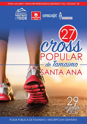 XXVII CROSS DE SANTA ANA TAMAIMO 2017